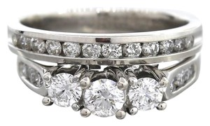 Other Precious Ladies 14K White Gold 1.55ctw Diamond Engagement Wedding Ring