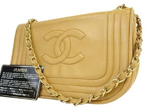 Chanel Half Moon Woc Flap Classic Crescent Shoulder Bag