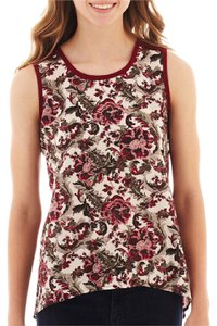Hollywould Top Maroon, Multi