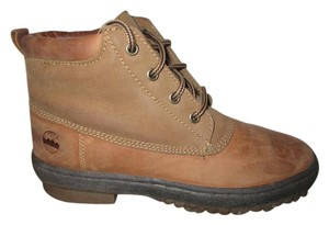 Maine Woods Leather tan Boots