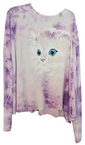 Wildfox Thermal Kitty Cat Sweater