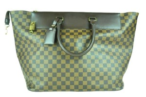Louis Vuitton Damier Greenwich Lv Tote in Brown