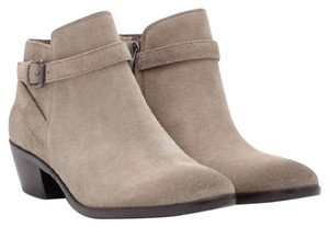 Sam Edelman Pirro Suede Casual Ankle Putty Boots