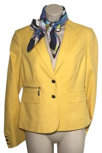 Vince Camuto Vince Spring Fashion Casual Business Maize Yellow / Lemon Zest Yellow Blazer