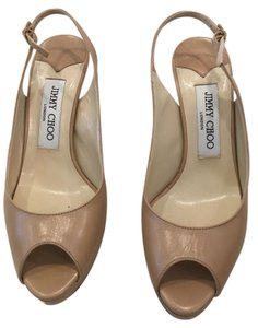 Jimmy Choo Nude Sandals