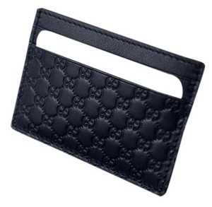 Gucci Gucci 262837 GG Money Card Case Leather