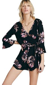 Free People Floral Tie Spring Dress
