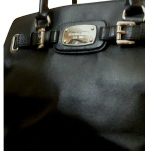 Michael Kors Tote in Black with silver accent and chain