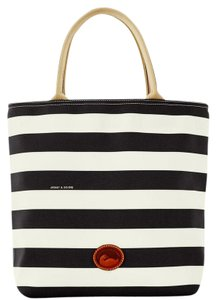 Dooney & Bourke & Everyday Rugby Canvas Tote in BLACK/WHITE