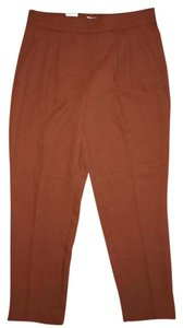 Aritzia Babaton Work Work Wear Joggers Relaxed Pants Burnt Red Orange