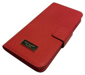 Kate Spade Kate Spade iPhone 6 / 6S Wrap Folio Case Geranium Saffiano Leather