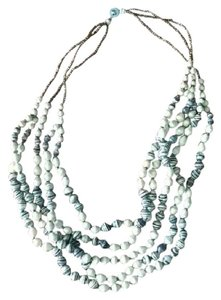 Thirty One Bits Stitch Fix Necklace - Black and White Bead
