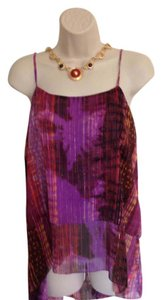 a.n.a. a new approach Top Purple, Gold & Brown