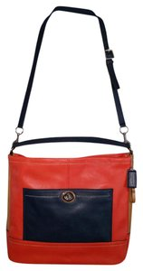 Coach Colorblock Leather Crossbody. Hobo Bag