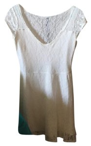 Hollister short dress White Lace on Tradesy