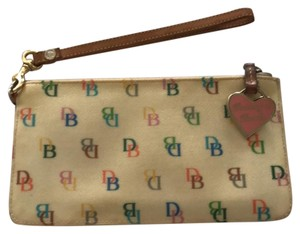 Dooney & Bourke Dooney & Bourke Multicolored Monogrammed Wristlet