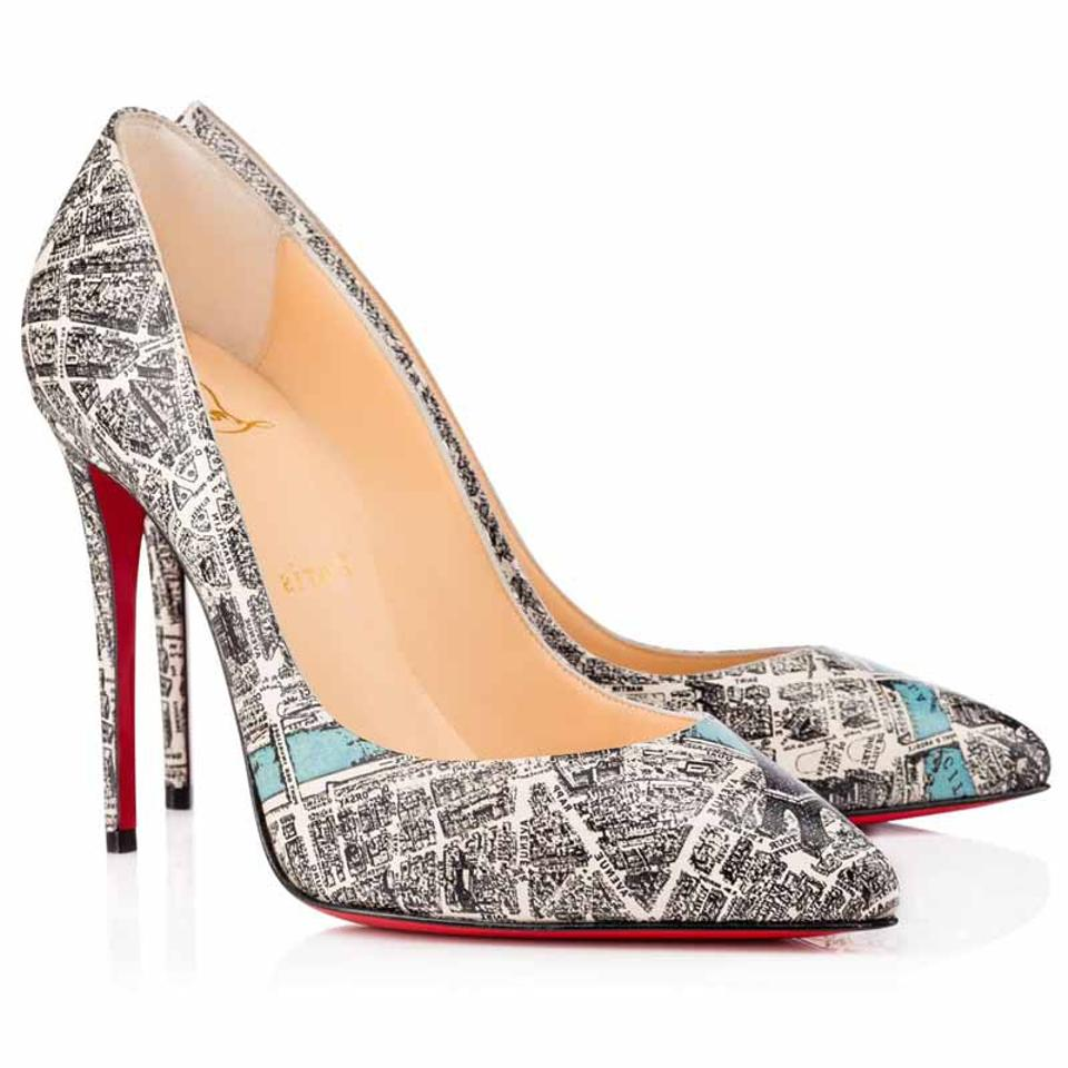 9a033e5ca84 Christian Louboutin Multicolor Pigalle Follies 100 Plan De Paris 38 Pumps  Size US 8 Narrow (Aa, N) 25% off retail