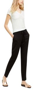 Vince Drawstring Casual Dressy Trouser Pants Black