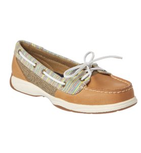 Sperry Leather Boat Preppy Summer Flats