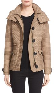Burberry Brit Runs Smaller taupe Jacket