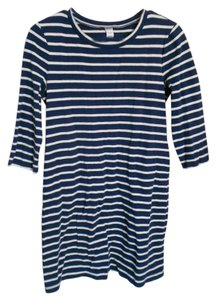 Old Navy short dress Navy and white stripe Sailor on Tradesy