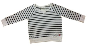 Abercrombie & Fitch T Shirt White & Navy Blue