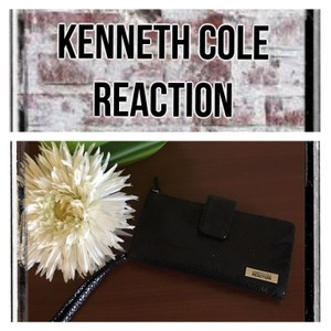 Kenneth Cole Reaction shimmer long fold wallet
