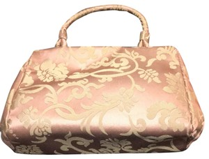 Banana Republic pink/tan Clutch