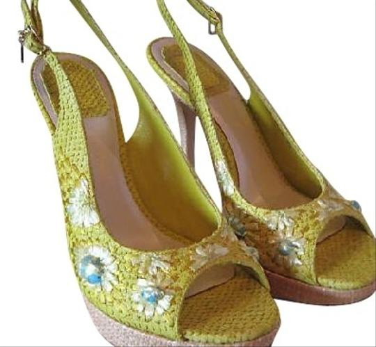 Preload https://item1.tradesy.com/images/christian-dior-chartreuse-sandals-20700-0-0.jpg?width=440&height=440