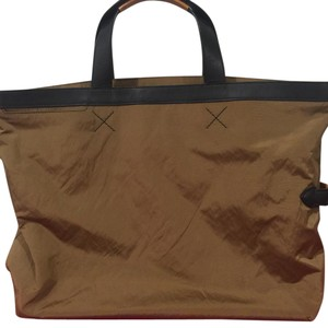 Tumi Full Length Nylon Casual Tote in tan