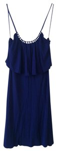 American Eagle Outfitters short dress Royal Blue Blue Flutter on Tradesy