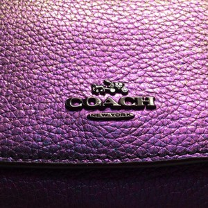 Coach Hologram Leather Small Wallet
