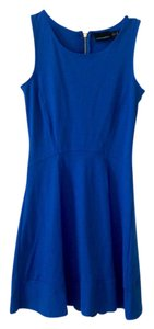 Cynthia Rowley short dress Royal Blue Blue Fit And Flare on Tradesy