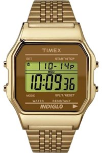 Timex Timex 80 Gold Core Digital Watch