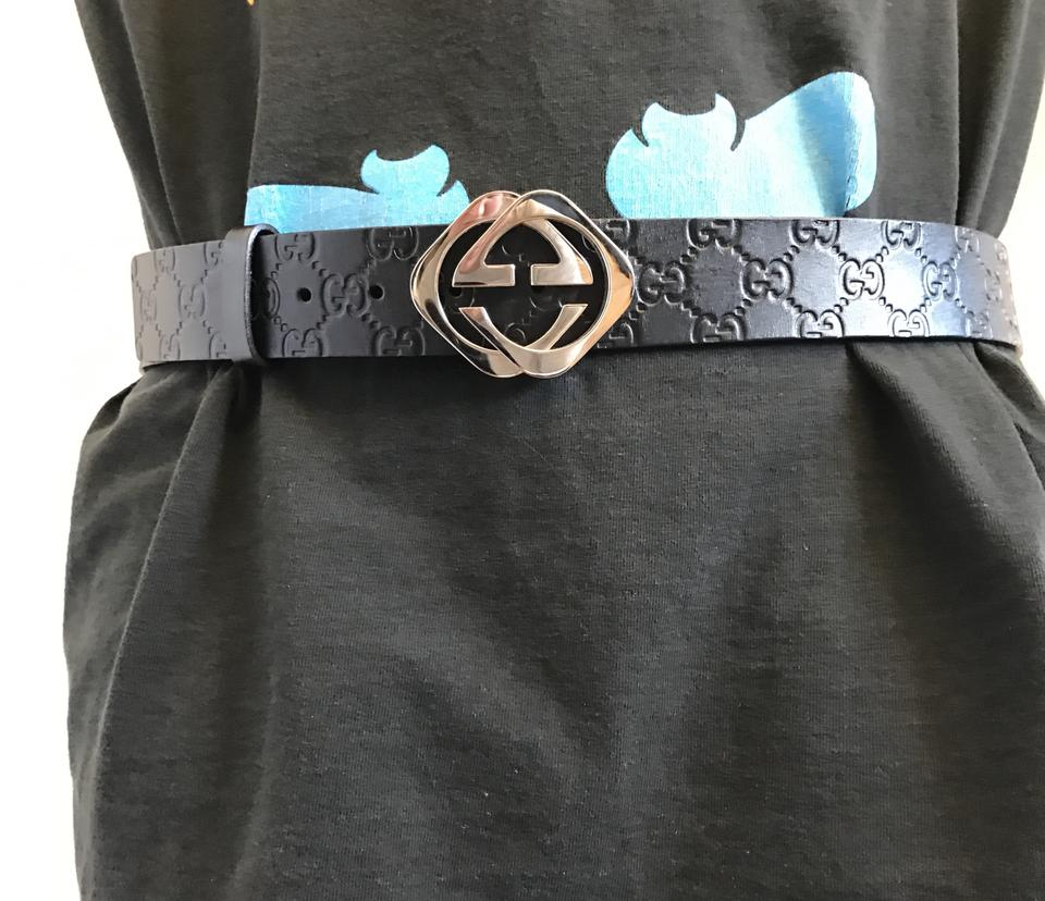 865933ac1d2 Gucci Guccissima belt with square G Image 9. 12345678910