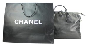 Chanel Jumbo Maxi Xl Duffle Keepall Travel Bag