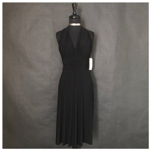 Jet Black Maxi Dress by Evan Picone