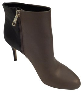 Ann Taylor Black/Taupe Boots