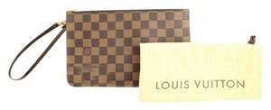 Louis Vuitton Pochette Pouch Wristlet Poche Cosmetic Case Clutch