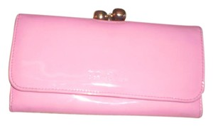Ted Baker Patent Leather crystal bobble purse