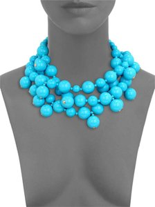 Kenneth Jay Lane Multi Beaded Statement Necklace