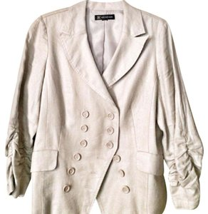 INC International Concepts Beige Blazer