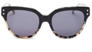 Ted Baker Ted Baker London Black Tortoise Full Rim Modified Round Sunglasses