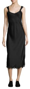 Helmut Lang Sleeveless Satin Slip Dress