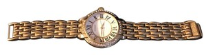 Gossip Gossip Gold tone stainless steel bracelet watch with extender