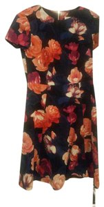 Eliza J Floral Petite Fit-and-flare Dress