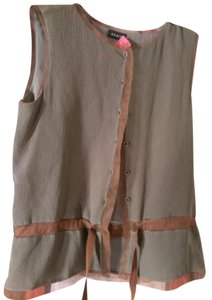 Akris Top Greenish brown