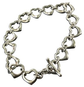 Tiffany & Co. Open Hearts toggle bracelet