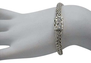 Other Sterling Silver 925 Rope Chain Cuff Bracelet Thematic Detail Closure