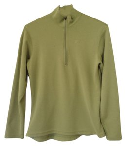 TWO Eastern Mountain Sports 2 EMS Techwick tops 3/4 zip up